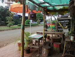 The place for meeting young backpackers groups &food & drink, great place for  Chill out beer,listening a reggae music available at banlung.