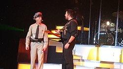 Terry as Barney Fife