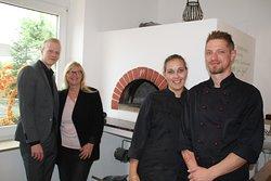 Team Kammann:  Von links - Jens Kammann, Frauke Kammann, Lea Kammann, Kai Kammann