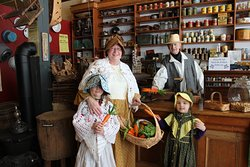 Come and dress up in pioneer clothing and have your picture taken in an original 1875 general store.