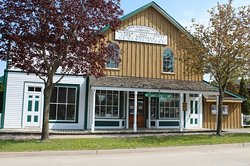 Visit an original 1875 general store, located on its original site.