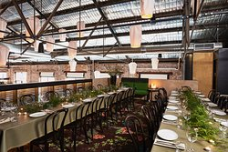 Tye Loft is our private mezzanine dining room