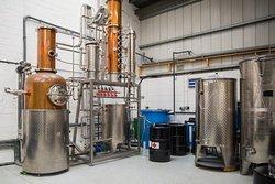 Meet our 300-litre copper-still, Patience