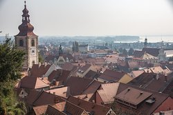 View of Ptuj from the castle