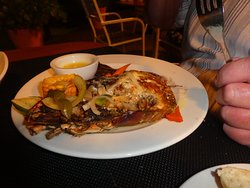 Surf & turf with lobster & steak
