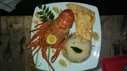 Lobster & crab.. Jumbo prowns any time..