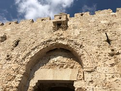 Zion Gate also known as King David's Gate