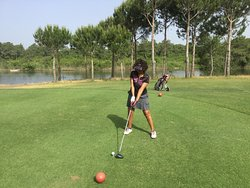 Titanic golf course (avec Noyan golf travel)
