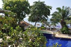 Un hôtel de plage d'exception