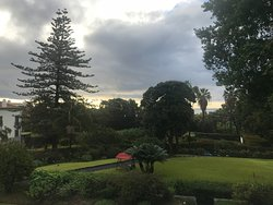 Stunning hotel in beautiful botanical gardens