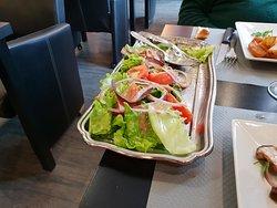 le plat de salade pour deux