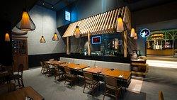 Enjoy a huge variety of Sushi's at Momo San - 24th St.