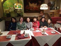 Etentje met Japanse vrienden van Creare