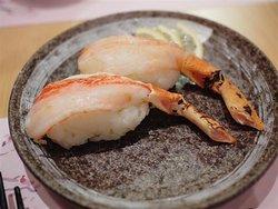火灸松葉蟹腳壽司