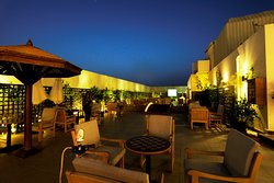 Ora Shisha & Bar located at the Rooftop. Open from 6pm to 6am.