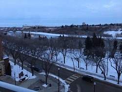 View of the River from the river view rooms