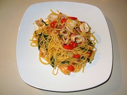 Plenty of seafood pasta variations!