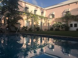The courtyard in the afternoon
