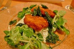 Fantastischer Backhuhnsalat