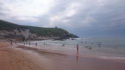 Vista oeste de la Playa de Tagle