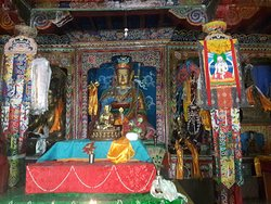 The picture is along the way to Manaslu trekking, Beautiful and Historical picture.