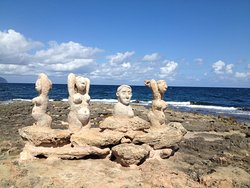 Sculptures at Sea