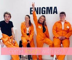 Have fun @ Enigma Escape Game Marrakech !