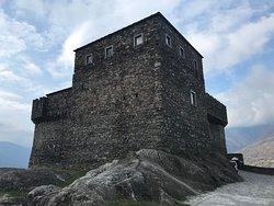Castle of Sasso Corbaro