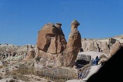 テヴレントのラクダ岩