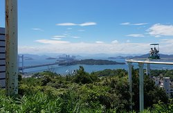 Sky Cycle and view from Washuzan Highland.