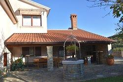 Pleasant accommodation in quiet village