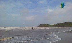 Kitesurfing in Bluefields