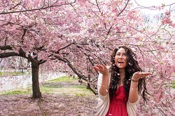 Branch Brook Park during the Cherry Blossom Festival is a dreamy place to be!