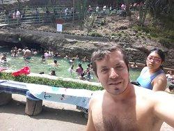 Espectacular, en uno de los baño de Churín