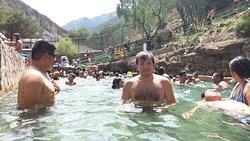 Una de las piscinas termales, la mejor de todas...!!