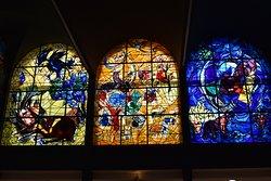 Chagall Windows - Hadassah Ein Kerem