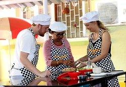 Cooking Class with Local Farmer's Market tour - www.ritasgourmetgoa.com