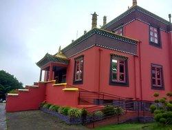 Lateral do templo