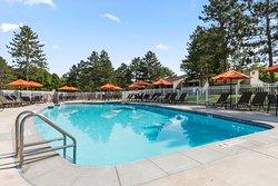 Villa outdoor pool