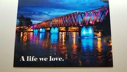 Quesnel's Historic Fraser River Foot Bridge