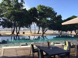 Beach resort without beach