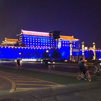 Xi'an City Wall Light Show