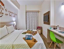 Apartamento cama de casal