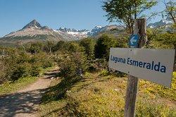 Comenzando el Camino a Laguna Esmeralda