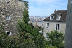 The view from the Apartment of Suzanne Valadon and Maurice Utrillo