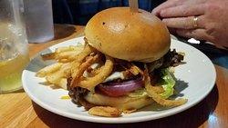Whisky Bacon Burger