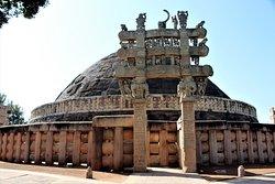 Sanchi, monuments bouddhiques
