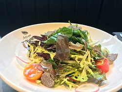 salad with truffle