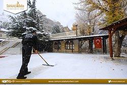Somuncu Baba Külliyesi'nde Kar Manzarası / Darende - Malatya