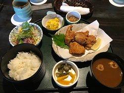 lunch next to garden (Shozan??)